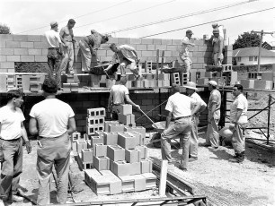 Greenport Rescue Sq. construct 1960 (3)