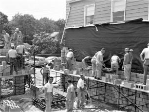 Greenport Rescue Sq. construct 1960 (4)