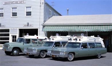 Greenport Rescue Squad Ambulances 1974 (2)