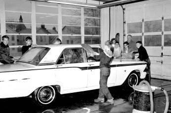 Greenport School car wash 1964