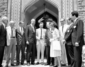 Olana Preservation Bill Signing Gov. Rockefeller, Ass. Larry Lane, Sen. Lloyd Newcombe 1966 (3)