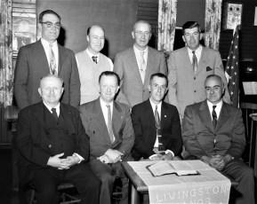 Livingston Manor Grange Officers 1957