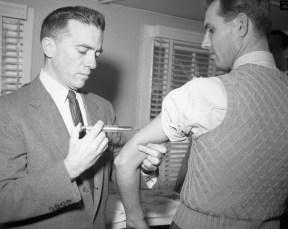 Bard College student polio shots 1957 (3)