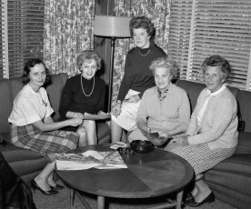 Red Hook Garden Club Fashion Show Committee Meeting 1967