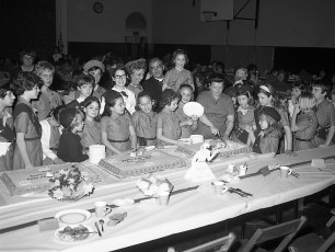 Red Hook Girl Scouts at Red Hook School 1969