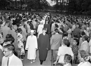 Red Hook High School Graduation 1957 (1)
