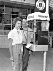 Red Hook Telephone Co. new out door payphone 1960