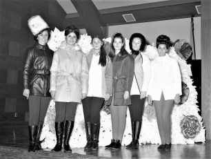 St. Christopher's School Fashion Show Red Hook 1968