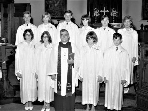 St. Paul's Church Confirmation Red Hook 1966