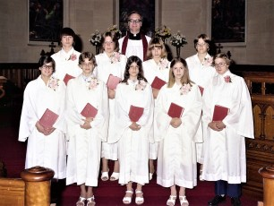 St. Paul's Church Confirmation Red Hook 1976