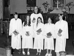 St. Paul's Lutheran Church Confirmation Red Hook 1973