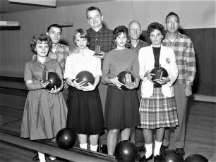 Bowling at Rhinebeck Lanes 1961