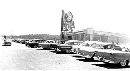 Burt Coons Chief Taghkanic Diner Rt. 82 Taghkanic 1955 (1)