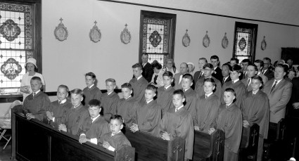 Holy Cross Church Confirmation Taghkanic 1965 (3)