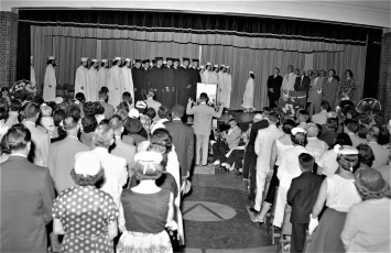 Ichabod Crane High School Graduation 1956 (1)