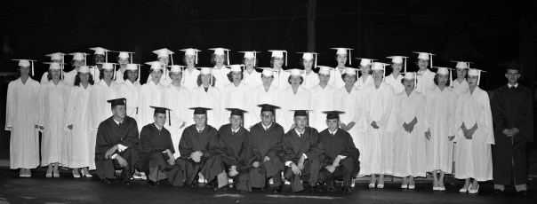 Ichabod Crane High School Graduation 1956 (2)