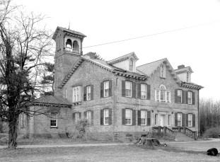Martin Van Buren Home and Grave Site Kinderhook 1957 (1)