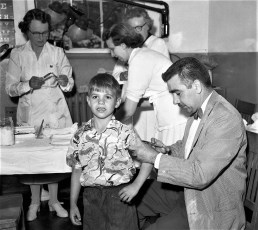 Salk Vaccination Kinderhook School 1955