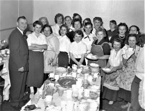 Staff after Democrat Dinner Valatie 1956