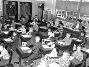 Stottville School Classrooms 1961 (2)