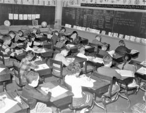 Stottville School Classrooms 1961 (3)