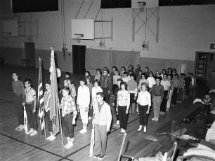 Philmont American Legion Drill Team members drilling 1963 (1)