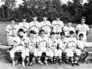 Philmont Junior Baseball Team 1968