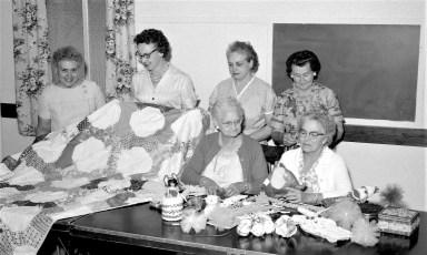 Philmont Reformed Church women prepare for Annual Festival 1964