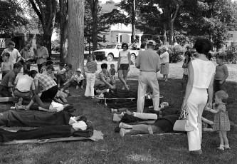 Philmont Rescue Squad disaster drill 1970 (1)