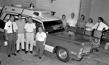 Philmont Rescue Squad's new ambulance 1967