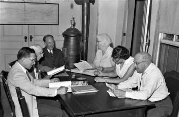 Philmont Town Board meeting 1959