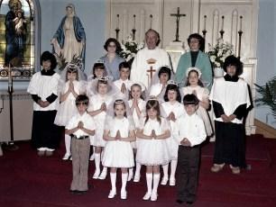 Sacred Heart Church 1st. Communion Philmont 1976