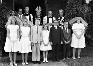 St. Mark's Church Confirmation Philmont 1963