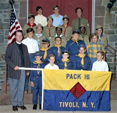 Boy and Cub Scouts of Tivoli 1971