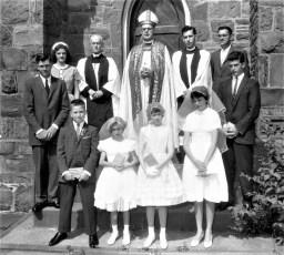 St. Paul's Church Confirmation Tivoli 1961