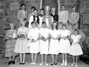 St. Paul's Trinity Church Confirmation Tivoli 1962