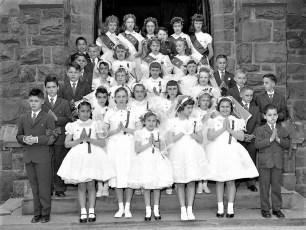 St. Sylvia Church Confirmation Tivoli 1958