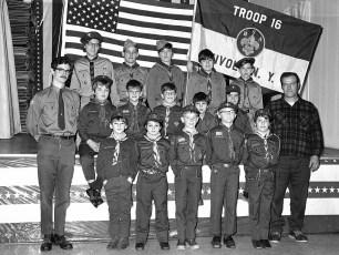 Tivoli Boy Scouts & Cub Scouts 1974