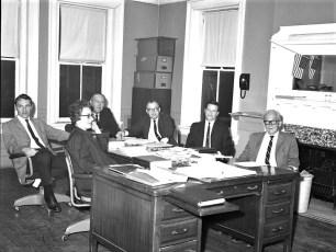 Village of Tivoli Town Board 1969