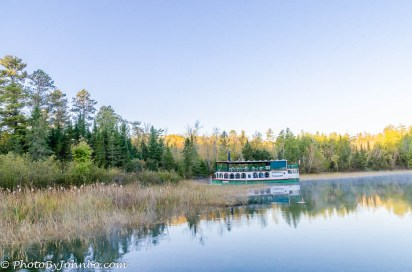 The Chester Charles cruises Lake Itasca in the summer months.