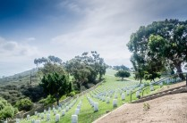 Fort Rosecrans National Cemetery at Point Loma, San Diego, California.