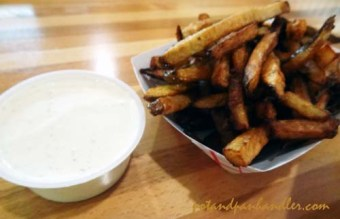 Don't overlook the fries at the stockyard, hand cut with homemade ranch.