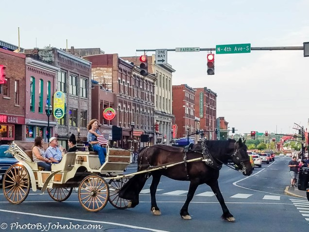 Carriage tour of Broadway.