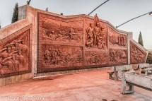 The memorial wall.