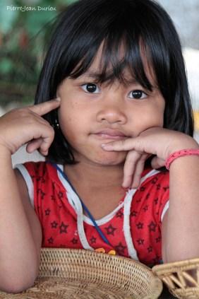 Portrait, Rizières près de Tenganan, Bali, Août 2014