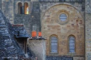L'Abbatiale et ses vitraux de Pierre Soulages, Conques, 20 juin 2015