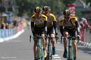 Arrivée du Tour de France, Cauterets, 15 juillet 2015