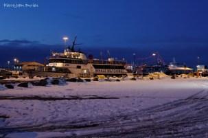 Bateau pour touristes, Port de Reykjavik, Islande