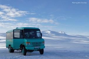 Transport sur glace, Islande