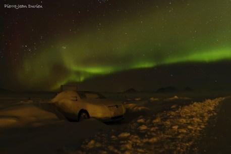 Aurore Boréale sur Modrudalur, la ferme la plus isolée d'Islande